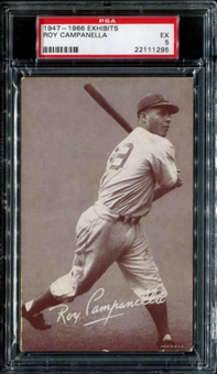 1947-1966 Exhibits Baseball Roy Campanella PSA 5 (EX) *1295