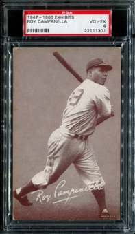 1947-1966 Exhibits Baseball Roy Campanella PSA 4 (VG-EX) *1301