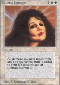 Magic the Gathering Unlimited Single Reverse Damage - NEAR MINT (NM)