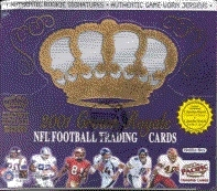 2001 Pacific Crown Royale Football Hobby Box