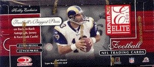 2001 Donruss Elite Football Hobby Box