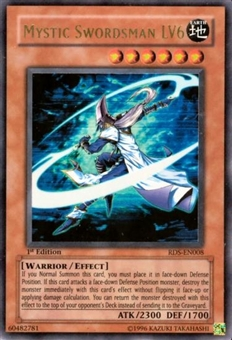 Yu-Gi-Oh Rise of Destiny Single Mystic Swordsman LV6 Ultra Rare (RDS-008)