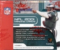 2001 Fleer Game Time Football Hobby Box