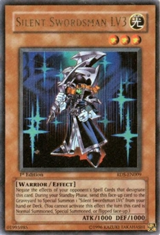 Yu-Gi-Oh Rise of Destiny Single Silent Swordsman LV3 Ultra Rare (RDS-009)