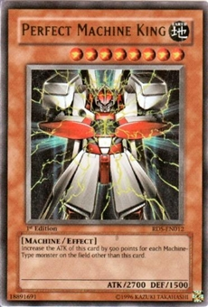 Yu-Gi-Oh Rise of Destiny 1st Ed. Single Perfect Machine King Ultra Rare (RDS-012)