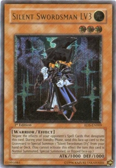 Yu-Gi-Oh Rise of Destiny Single Silent Swordsman LV3 Ultimate Rare (RDS-009)
