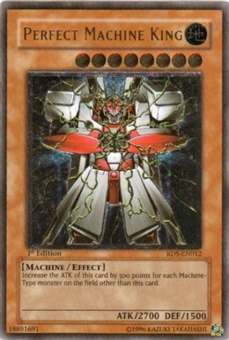 Yu-Gi-Oh Rise of Destiny Single Perfect Machine King Ultimate Rare (RDS-012)