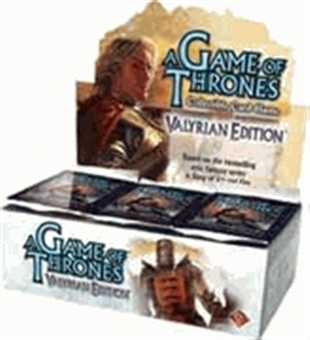 Fantasy Flight Games A Game of Thrones Valyrian Edition Booster Box