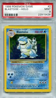 Pokemon Base Set 1 Single Blastoise 2/102 - PSA 9 - *22915426*