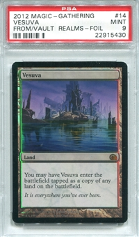 Magic the Gathering From The Vault: Realms Single Vesuva - PSA 9 - *22915430*