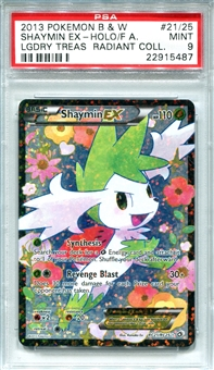 Pokemon Legendary Treasures Single Shaymin EX RC21/RC25 - PSA 9 - *22915487*