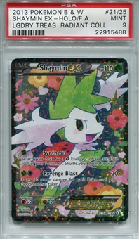Pokemon Legendary Treasures Single Shaymin EX RC21/RC25 - PSA 9 - *22915488*