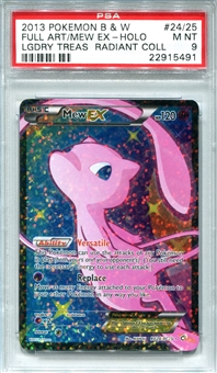 Pokemon Legendary Treasures Single Mew EX Full Art RC24/RC25 - PSA 9 - *22915491*