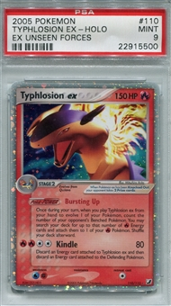 Pokemon Ex Unseen Forces Single Typhlosion EX 110/115 - PSA 9 - *22915500*