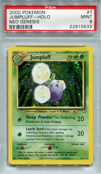 Pokemon Neo Genesis Single Jumpluff 7/111 - PSA 9 - *22915533*
