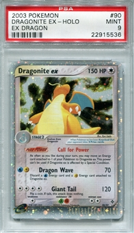 Pokemon Ex Dragon Single Dragonite EX 90/97 - PSA 9 - *22915536*