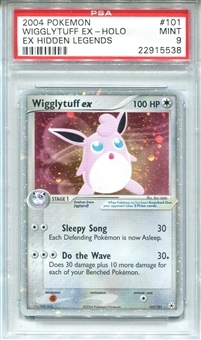 Pokemon Ex Hidden Legends Single Wigglytuff EX 101/101 - PSA 9 - *22915538*