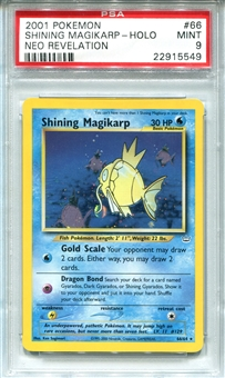 Pokemon Neo Revelation Single Shining Magikarp 66/64 - PSA 9 - *22915549*