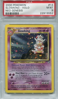 Pokemon Neo Genesis Single Slowking 14/111 - PSA 9 - *22915552*