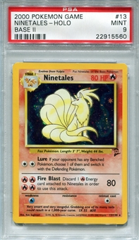 Pokemon Base Set 2 Single Ninetales 13/130 - PSA 9 - *22915560*