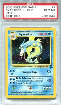 Pokemon Base Set 2 Single Gyarados 7/130 - PSA 10 - *22915567*