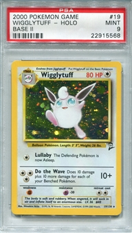 Pokemon Base Set 2 Single Wigglytuff 19/130 - PSA 9 - *22915568*