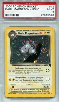 Pokemon Team Rocket Single Dark Magneton 11/82 - PSA 9 - *22915578*