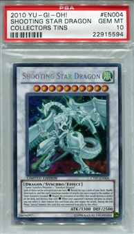 Yu-Gi-Oh Tin Single Shooting Star Dragon CT07-EN004 - PSA 10 - *22915594*