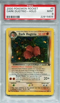 Pokemon Team Rocket Single Dark Dugtrio 6/82 - PSA 9 - *22915605*