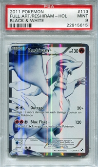 Pokemon Black & White Single Reshiram 113/114 - PSA 9 - *22915615*