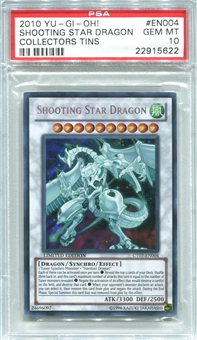 Yu-Gi-Oh Tin Single Shooting Star Dragon Secret Rare CT07 - PSA 10 *22915622*