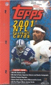 2001 Topps Football Jumbo Box