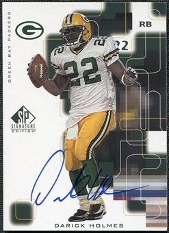 1999 Upper Deck SP Signature Autographs #DH Darick Holmes