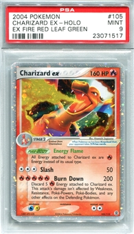 Pokemon Ex Fire Red and Leaf Green Single Charizard EX 105/112 - PSA 9 - *23071517*