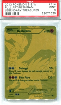 Pokemon Legendary Treasures Single Reshiram 114/113 - PSA 9 - *23071520*