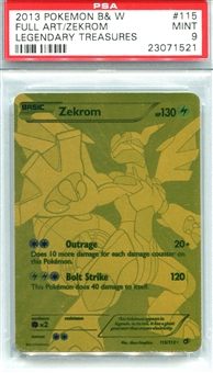 Pokemon Legendary Treasures Single Zekrom 115/113 - PSA 9 - *23071521*