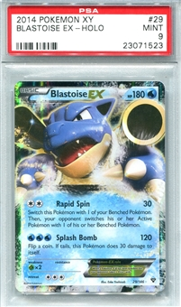 Pokemon X & Y Single Blastoise EX 29/146 - PSA 9 - *23071523*