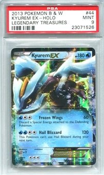 Pokemon Legendary Treasures Single Kyurem EX 44/113 - PSA 9 - *23071526*