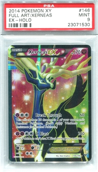Pokemon X & Y Single Xerneas EX 146/146 - PSA 9 - *23071530*