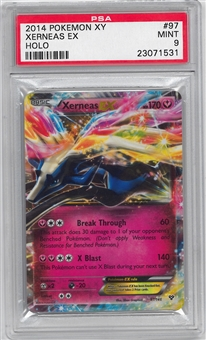 Pokemon X & Y Single Xerneas EX 97/146 - PSA 9 - *23071531*