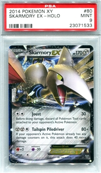 Pokemon X & Y Single Skarmory EX 80/146 - PSA 9 - *23071533*