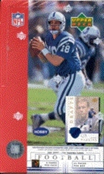 2001 Upper Deck Football Hobby Box