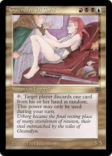 Magic the Gathering Legends Single Gwendlyn Di Corci UNPLAYED (NM/MT)