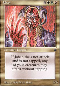 Magic the Gathering Legends Single Johan - NEAR MINT (NM)