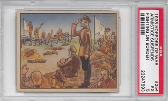 "1938 Gum Inc. Horrors of War #254 ""Armistice Suspends Fighing"" PSA 5 (EX) *7693"