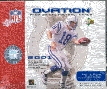 2001 Upper Deck Ovation Football Hobby Box