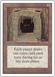Magic the Gathering Unlimited Single Howling Mine - MODERATE PLAY (MP)