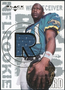 2000 Upper Deck Black Diamond #153 R.Jay Soward RC Jersey