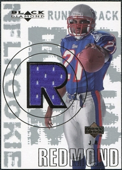 2000 Upper Deck Black Diamond #163 J.R. Redmond RC Jersey