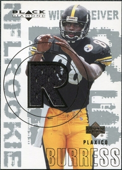 2000 Upper Deck Black Diamond #170 Plaxico Burress RC Jersey